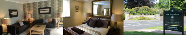 Ryder Cup 2014 Accommodation Package - Gleneagles Village/ Auchterarder