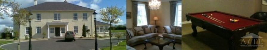 Solheim Cup 2011 Accommodation - 5min to Solheim Cup Venue at Killeen Castle