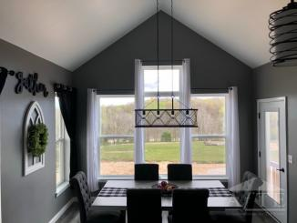 Dining Room w/ overlook