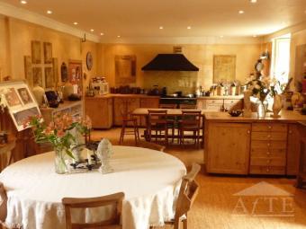 Open plan kitchen & Breakfast room